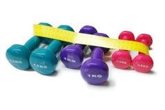 Körpergewichtsteuerung Stockfotos