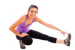 Körperliche Bewegungen Stockfotografie