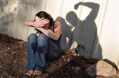 Körperlicher Missbrauch Stockfoto