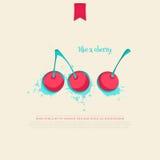 Körsbäret gillar Arkivfoton