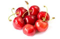 Körsbärsröd röd frukt Royaltyfri Fotografi