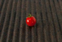 Körsbärsröd tomat för släktklenod Arkivbilder