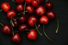 Körsbärsröda frukter Arkivbilder