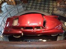 Körsbärsröda röda Chevy Arkivfoton