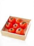 Körsbärsröda tomater Arkivfoton