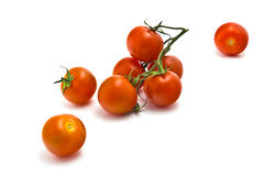 Körsbärsröda tomater Royaltyfri Foto