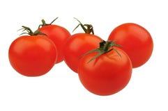 Körsbärsröda tomater Arkivfoto