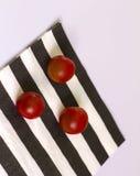 Körsbärsröda tomater Fotografering för Bildbyråer