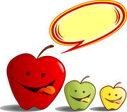 Köstliche Äpfel Lizenzfreie Stockfotografie