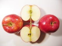 Köstliche Äpfel Stockfotos