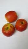 Köstliche Äpfel stockfotografie