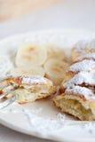 Köstliche dänische Pfannkuchen Lizenzfreie Stockfotos