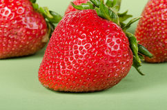Köstliche Erdbeeren Stockfoto