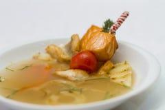 Köstliche Fischkebabs Lizenzfreies Stockbild