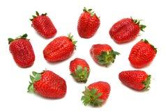 Köstliche frische Erdbeeren Lizenzfreie Stockbilder