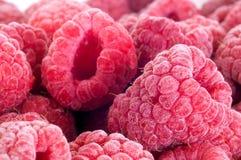 Köstliche gefrorene Himbeeren lizenzfreies stockbild