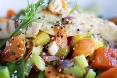 Köstliche gesunde Nahrung lizenzfreie stockfotos
