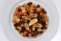 Köstliche getrocknete Früchte lizenzfreie stockfotos