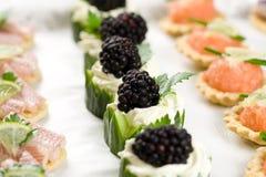 Köstliche Imbisse Stockfotografie