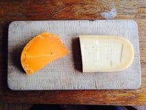 Köstliche Käse Lizenzfreies Stockfoto