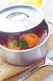 Köstliche Kalbfleischeintopfgerichtsuppe Stockbild