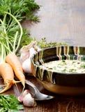 Köstliche Kaldaunensuppe Stockfotos