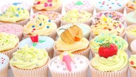 Köstliche kleine Kuchen Stockfotografie