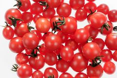 Köstliche kleine rote Tomaten Lizenzfreie Stockbilder