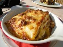 Köstliche Lasagne in Italien Lizenzfreies Stockbild