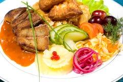 Köstliche Mahlzeit! - 5 Lizenzfreie Stockbilder