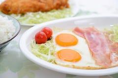 Köstliche Mahlzeiten stockbild