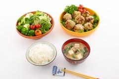 Köstliche Mahlzeiten lizenzfreies stockfoto