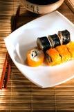 Köstliche maki Sushi Stockbild