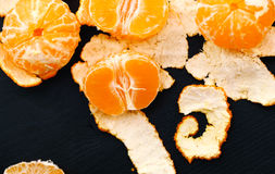 Köstliche Mandarine Stockfotos