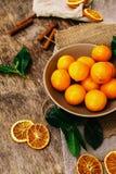 Köstliche Mandarine Stockbild