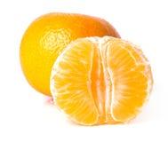 Köstliche Mandarine Lizenzfreie Stockfotos