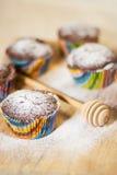Köstliche Muffins Stockfotografie