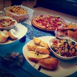 Köstliche Nahrung stockfotos