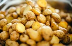 Köstliche Ofenkartoffeln Lizenzfreies Stockbild