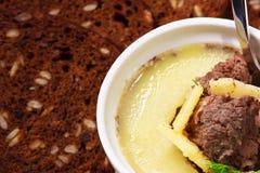 Köstliche Pastete Stockfoto