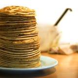Köstliche Pfannkuchen Lizenzfreie Stockfotos