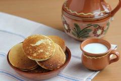 Köstliche Pfannkuchen Stockbilder