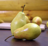Köstliche reife Herbstbirnen Lizenzfreies Stockfoto