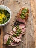 Köstliche Rindfleischleiste Lizenzfreie Stockbilder