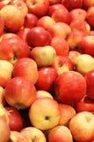 Köstliche rote Äpfel Lizenzfreie Stockfotos