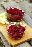 Köstliche Rote-Bete-Wurzeln Stockbild