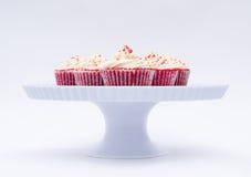 Köstliche rote Samte Lizenzfreie Stockbilder