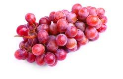 Köstliche rote Trauben Lizenzfreie Stockbilder