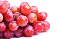 Köstliche rote Trauben Stockfotografie