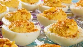 Köstliche Russische Eier Stockfotografie